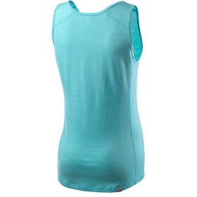 Houdini Activist Camisa sin mangas Mujer, aquatic blue